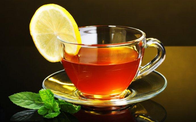 Чай (черный, зеленый) с сахаром и лимоном