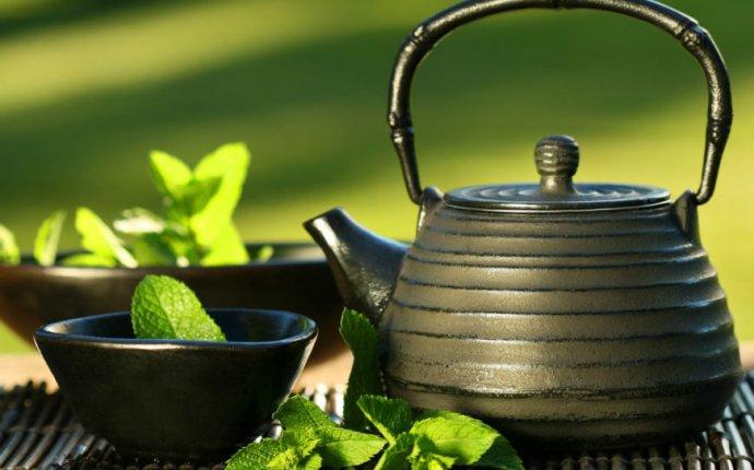Чай с мятой: черный и зеленый чай с мятой, с медом и лимоном