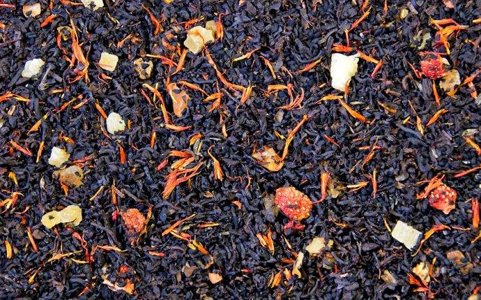 Черный композиционный чай Черный жемчуг