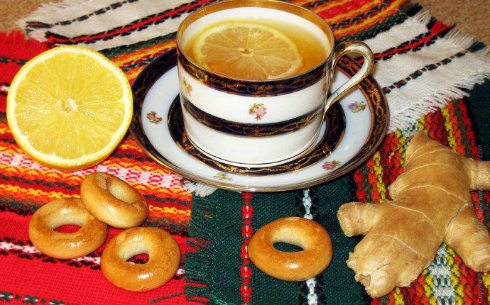 Имбирный чай с медом и лимоном для иммунитета