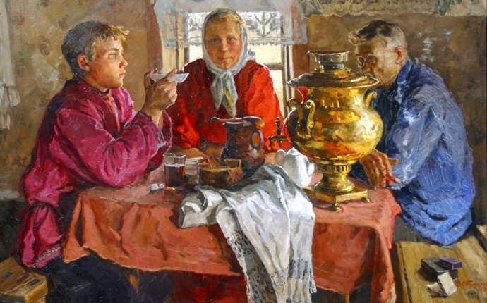 История чая в России. Происхождение чая в России - Чайная Правда