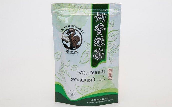 Купить Черный дракон Молочный зелёный чай 100г недорого в интернет