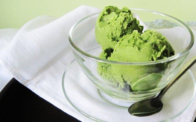 Мороженое зеленый чай матча | Lovekitchen.me