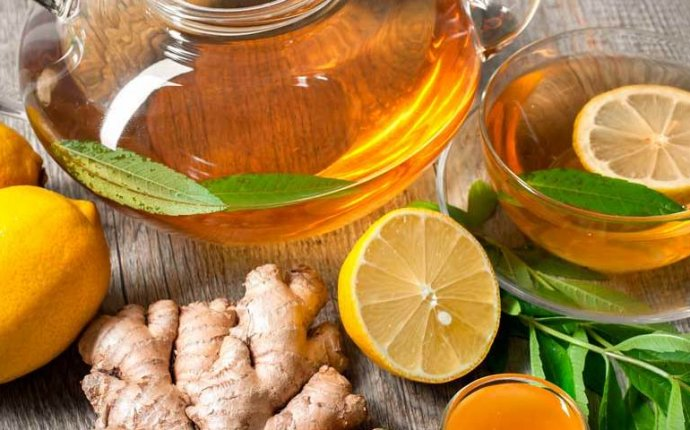 Приготовление имбирного чая для восстановления энергии ЯНЬ