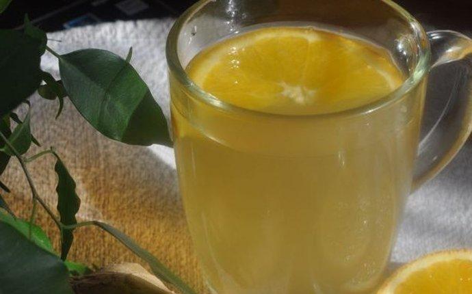 Рецепт - Зелёный чай с имбирём