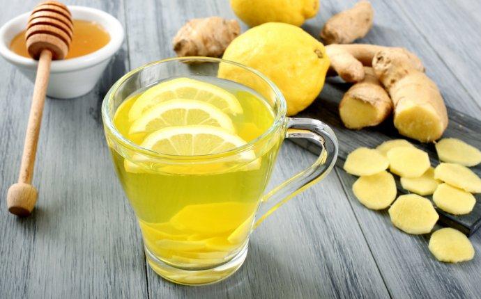Рецепты имбирного чая с лимоном