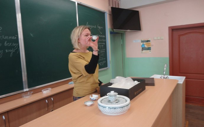 Сайт 5 А класса СШ 53 Минск | Церемония чаепития!