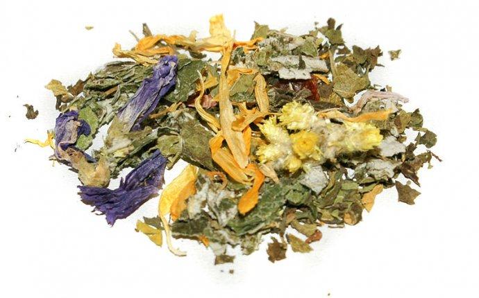 Травяной чай для похудения рецепт - Пурпурный чай Чанг-Шу для