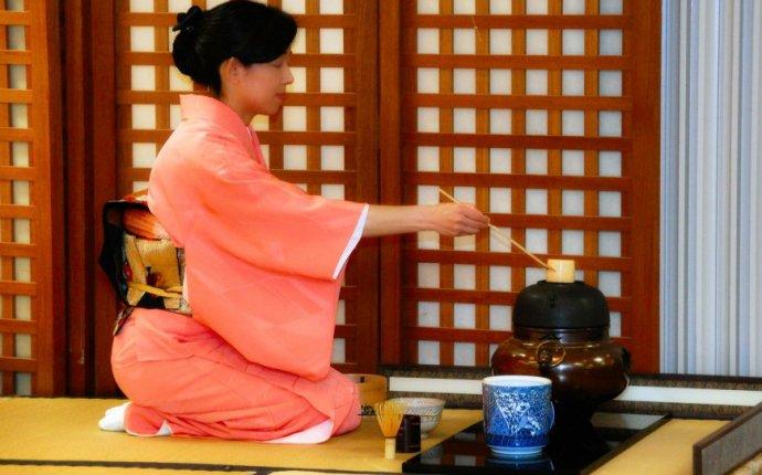 Японская чайная церемония видео