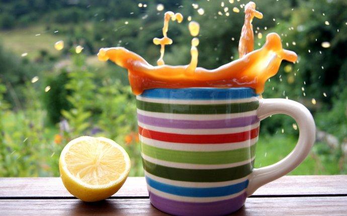 Зеленый чай и лимон для похудения : Полезные свойства синего чая