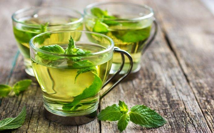 Зеленый чай с мятой | Польза и Вред — ЧайкоФский